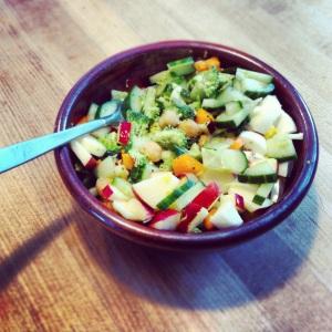 The Breakfast Salad.