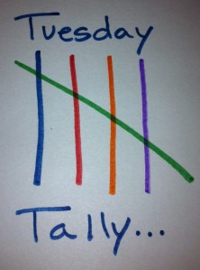 Tuesday Tally