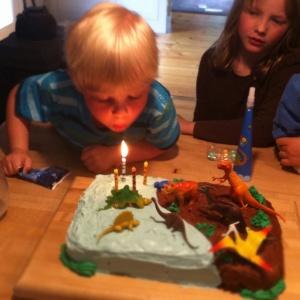 Happy brr-day, Little Guy!